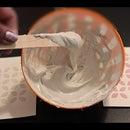 DIY Texture Paste Using Homemade Elmer's Glue