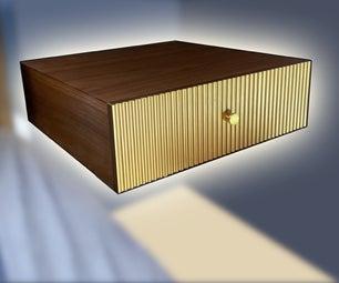 DIY Floating Nightstands (Plywood and Walltnut Veneer)