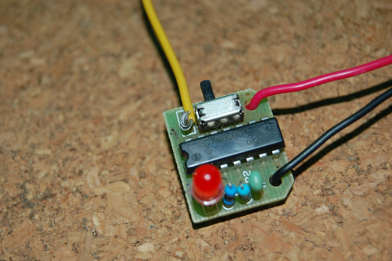 Flashing Module Modification