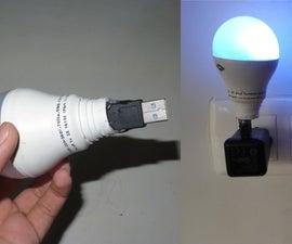 Multicolor USB LED Light (BLUE+)