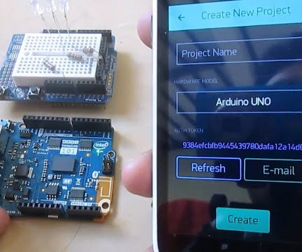 Simplest IoT LED Control With Arduino & Blynk