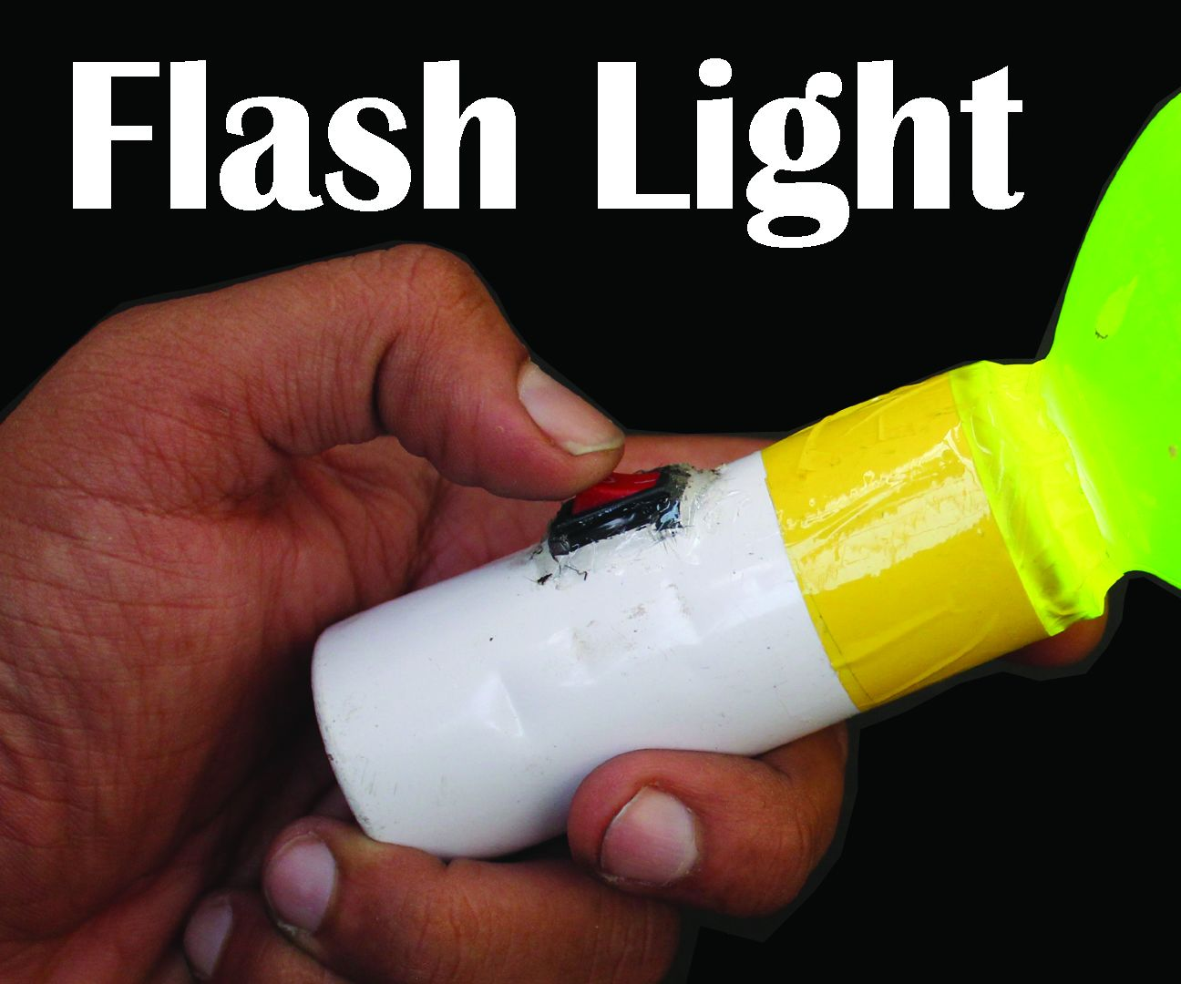 How To Make Flash Light Using Plastic and Deodorant Bottles