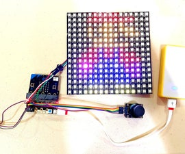 RGB LED Matrix Sketch (micro:bit Version)