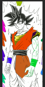 Step 9: Change the Color of the Character to Original Color