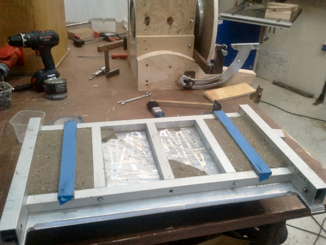Trunnion Mounting Strips
