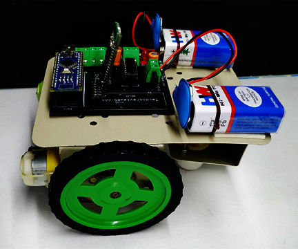 Smart Phone Control Arduino Robot