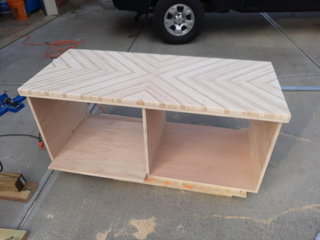 Build the Remaining Entertainment Center