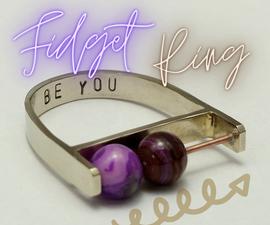 Handcrafted Fidget Bead Ring