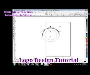 Logo Design - Coral Draw - Tutorial #diy