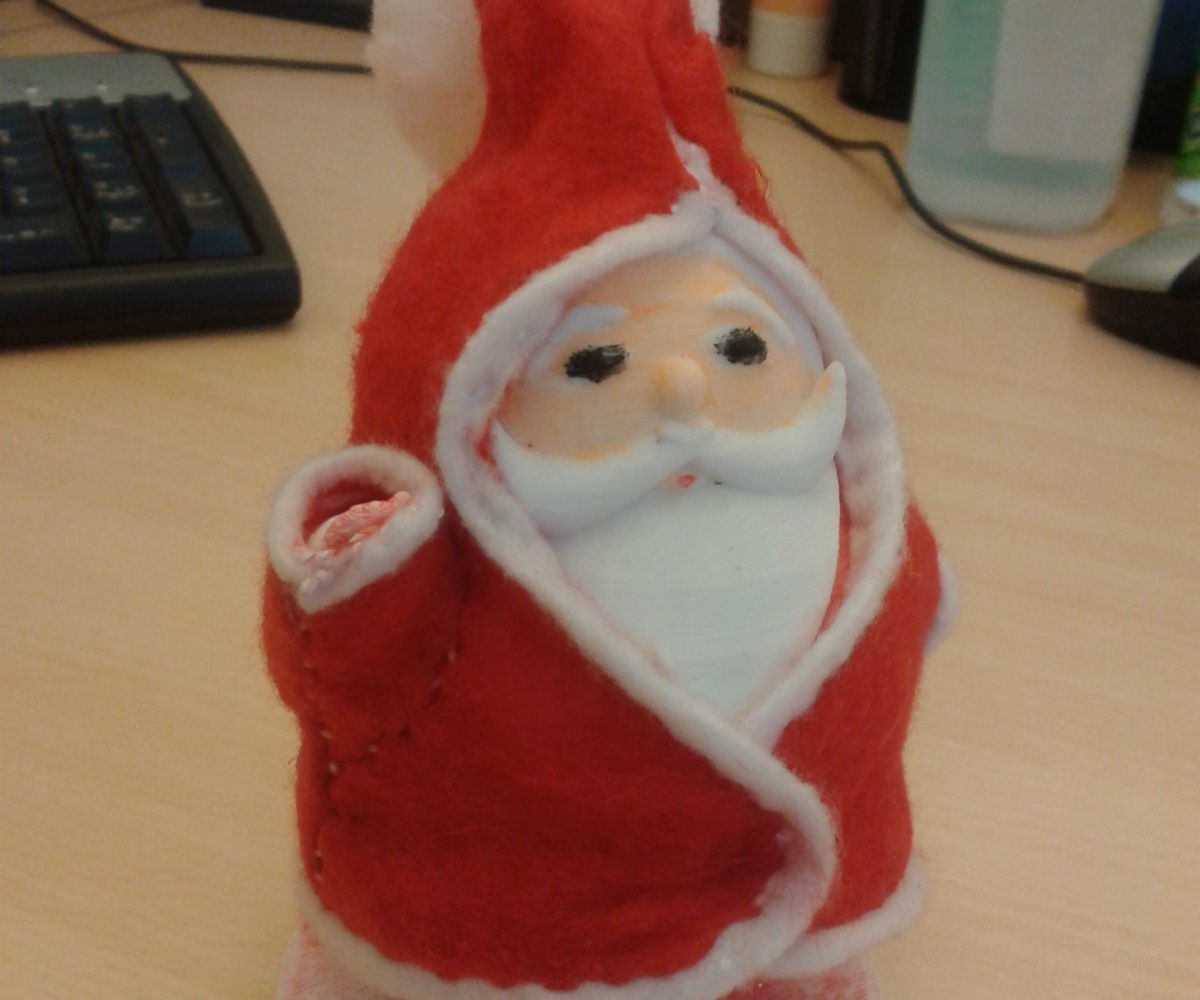 Design Your Santa Claus with Tinkercad
