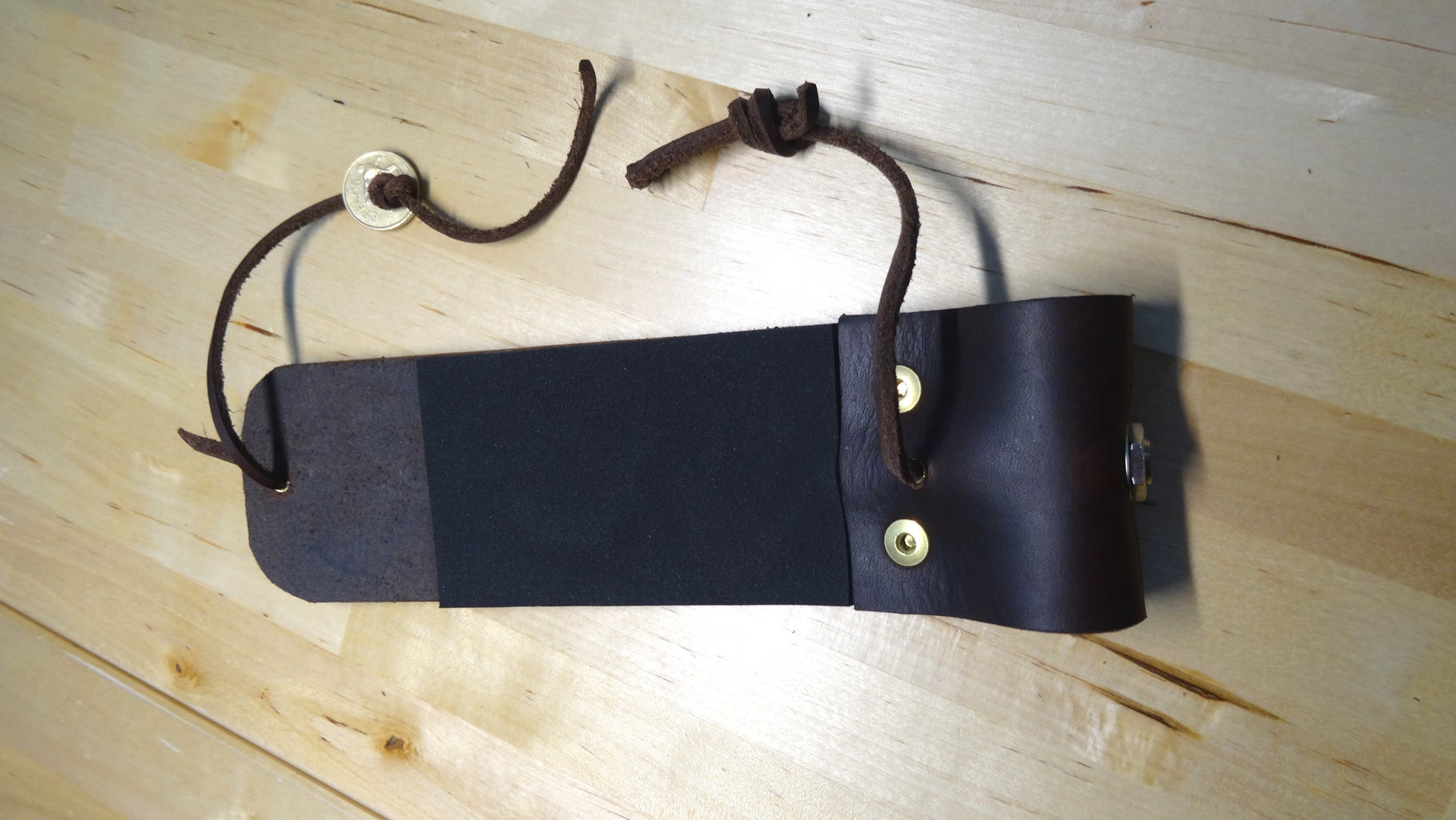 The Leather Knee Pad