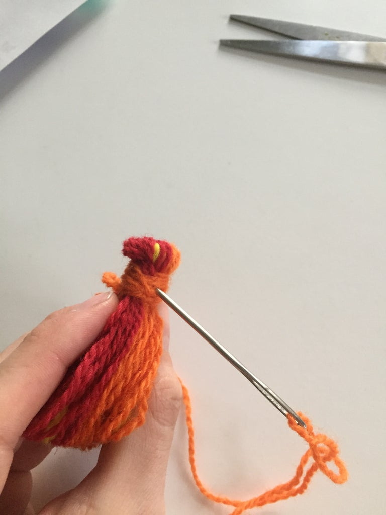 Wrap Some Yarn on One End of the Loop