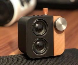 Mini Cube Bluetooth Speaker
