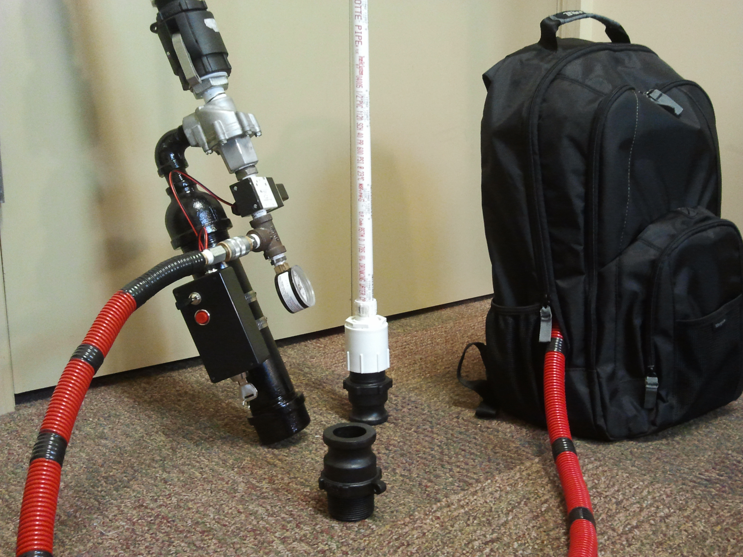 Versatile Multi-shot Pneumatic Cannon