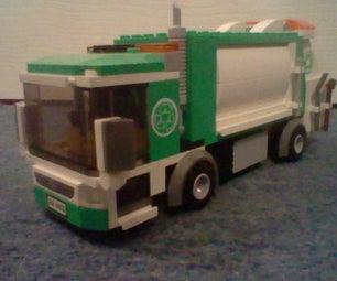 Lego City Dumpster Truck.
