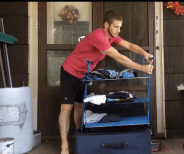 Suitcase Dresser - NEVER...EVER Unpack!