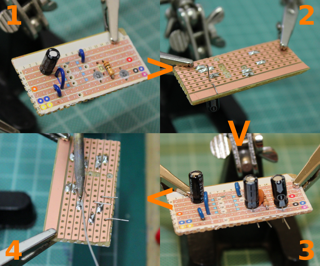 LET'S INSERT THE CAPACITORS