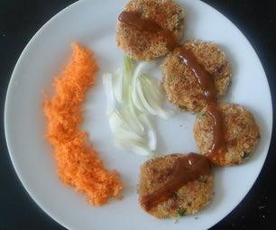 Spicy Potato Tikki