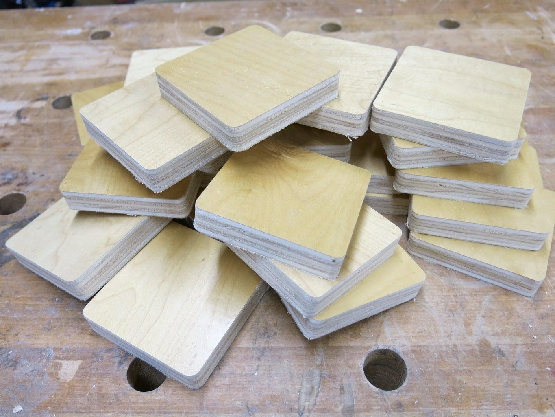 Make Wood Tiles