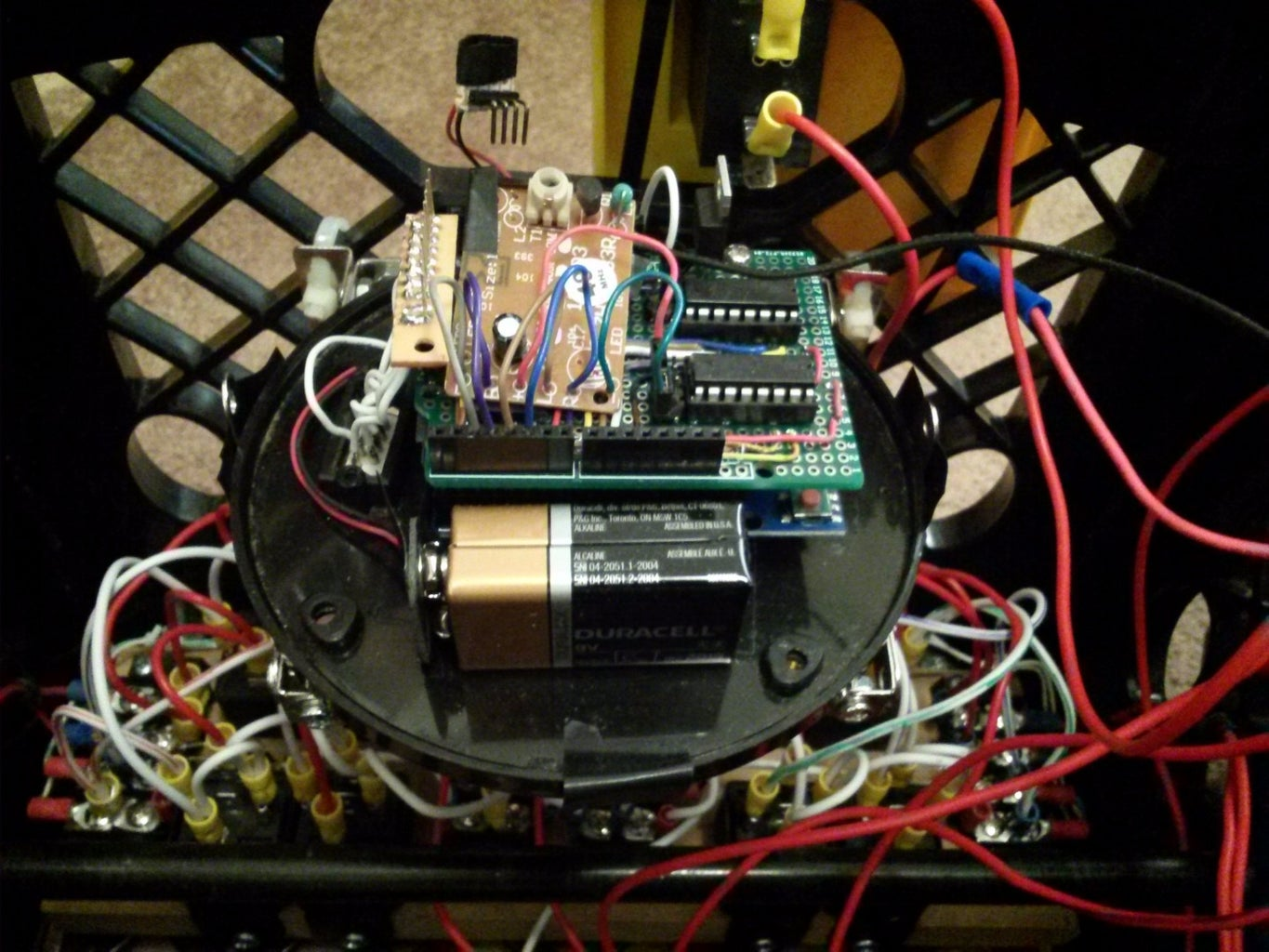 Installing the Arduino Control Boards