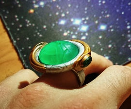 Stargate Goa'uld Ring & Pendant With LED