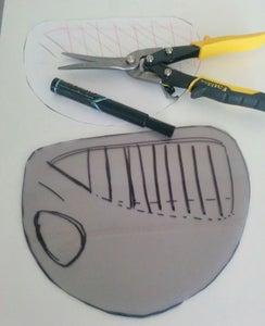 Shoulder: Cut Out the Plastic