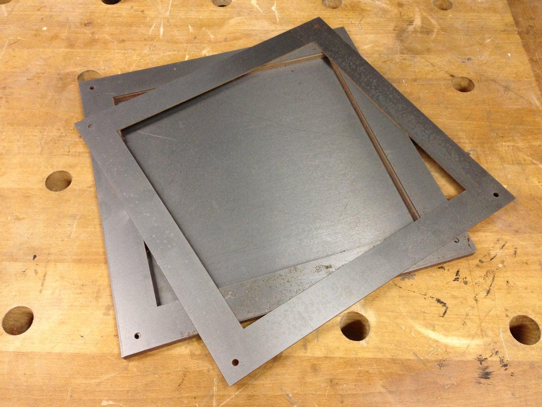 Waterjet Metal Shelves