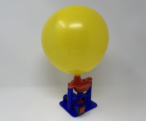 A (mostly) 3D Printed Air Pump.