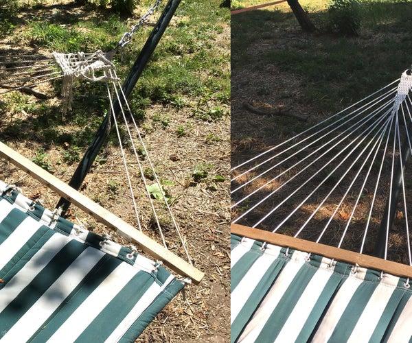 Re-String a Hammock With a Spreader Bar