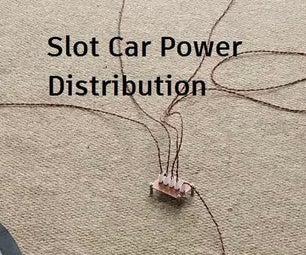 Digital Slot Car Power Distribution