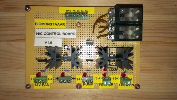 BioMONSTAAAR's H/C Control Board