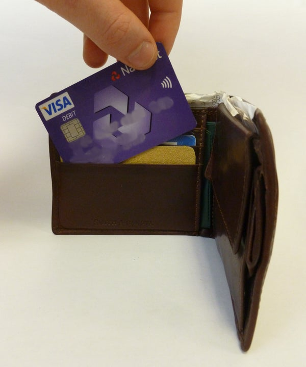 Save Money With a Sandpaper Insert in Your Wallet