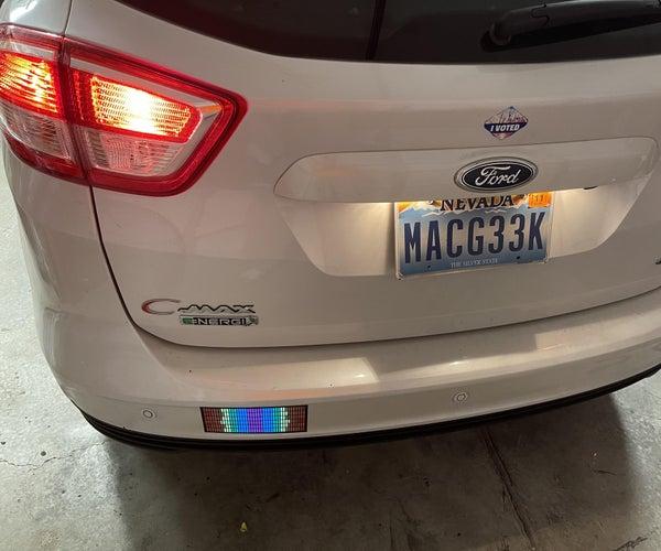 Electroluminescent Bumper Sticker *UPDATE*