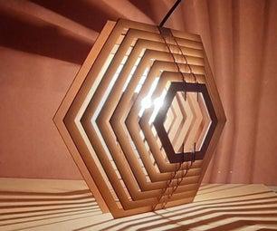 Hexagon Pattern Lamp
