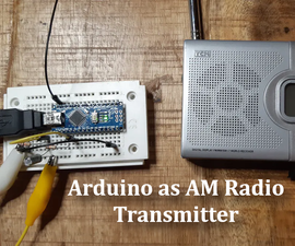 AM Transmitter With Arduino