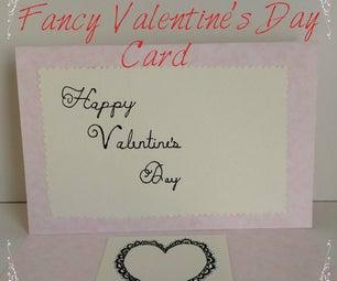 Fancy Valentine's Day Card