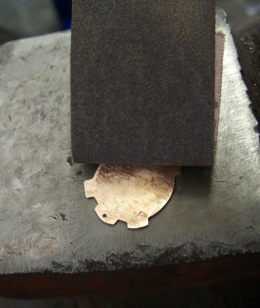 Drilling and Medium Grit Sanding