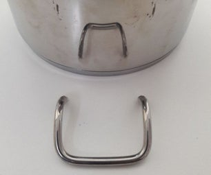 Welding a Handle to a Thin Walled Cooking Pot