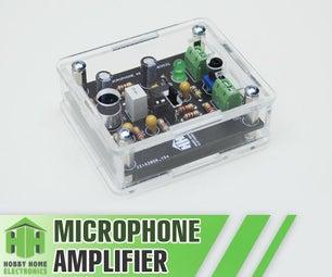 Microphone Amplifier NE5532.