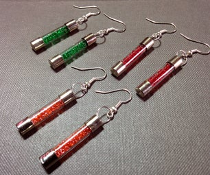 How to Create Earrings Using Blown Electric Fuse