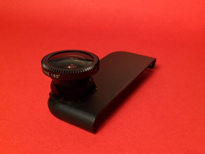 DIY Snap-on Fisheye Lens Attachment for IPhone