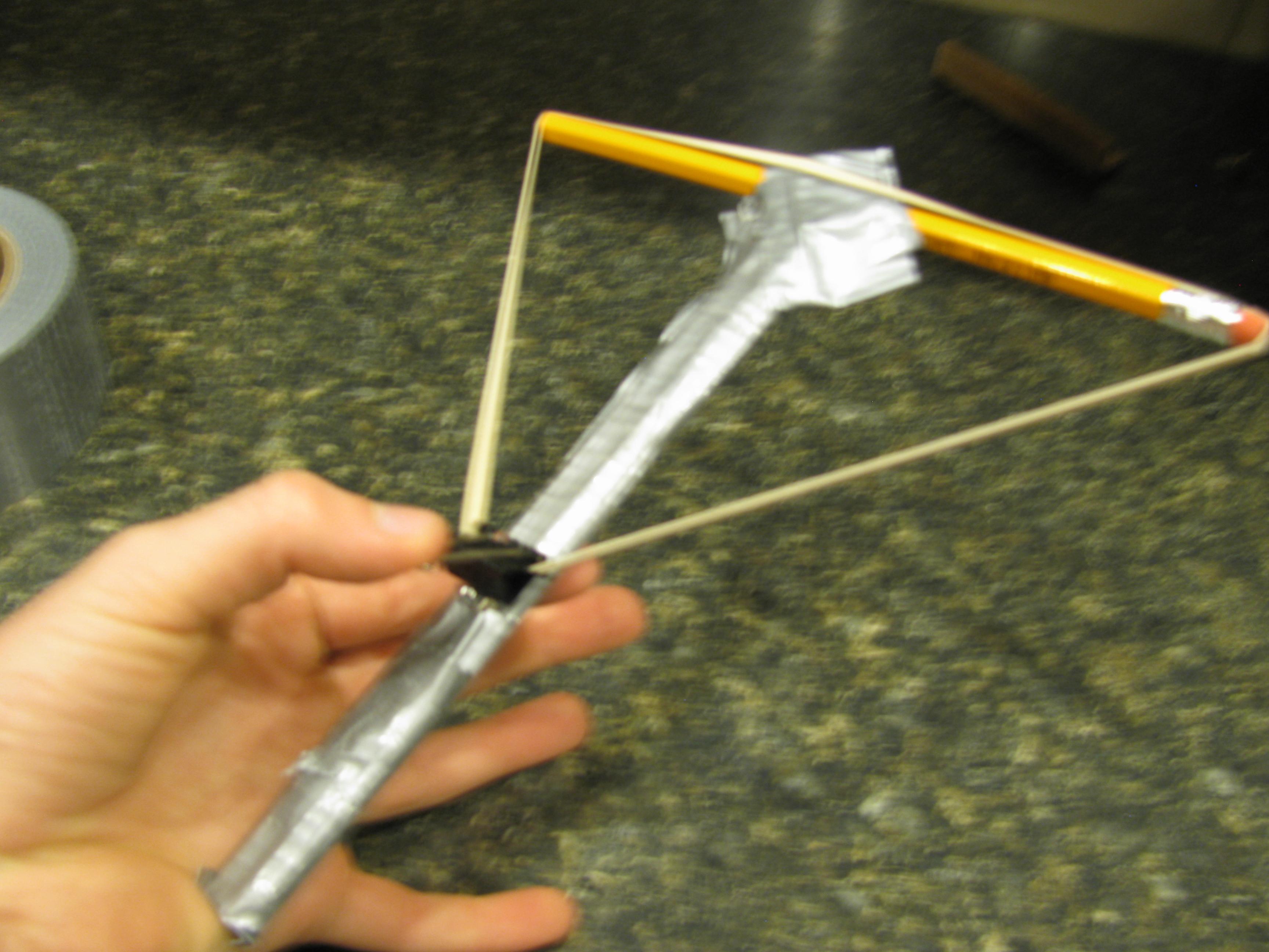 Pencil Crossbow