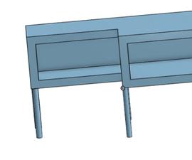 游戏桌,一台显示器,游戏机,游戏机放在底部的两个架子上