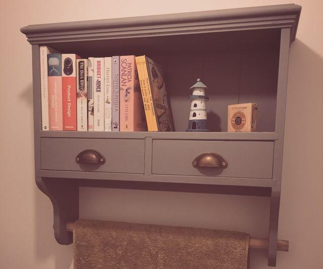 Bathroom Book Shelf