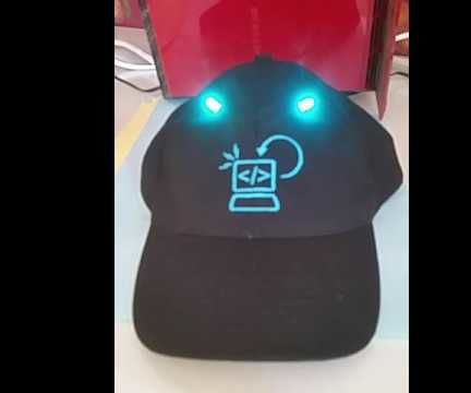 Simple Color Changing LED Hat