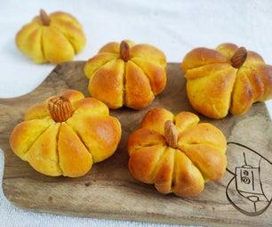 Pumpkin Dinner Buns