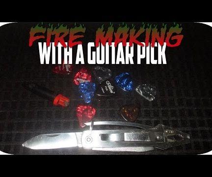 Guitar Pick Fire