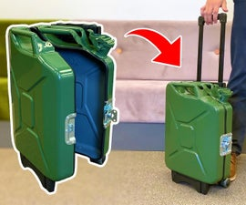 A Suitcase From Jerry Can