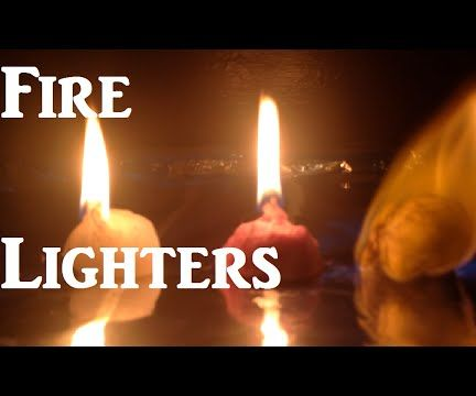 Fire Lighters 3 Ways