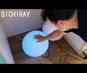 Gently Pat a Balloon and Set Off a 'light'